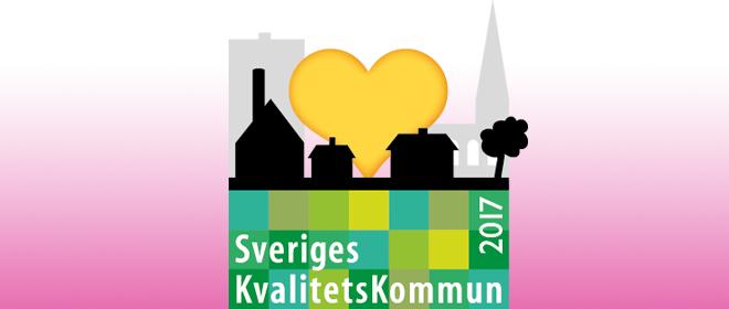 Kommunerna som gör upp om titeln Sveriges KvalitetsKommun 2017